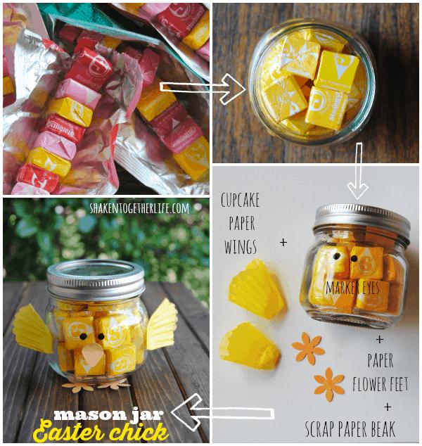 How to make a mason jar chick