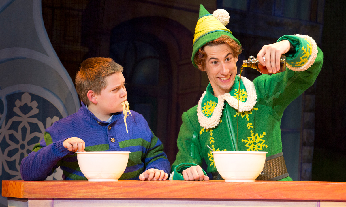 Elf Musical at the Fox Theatre in Detroit