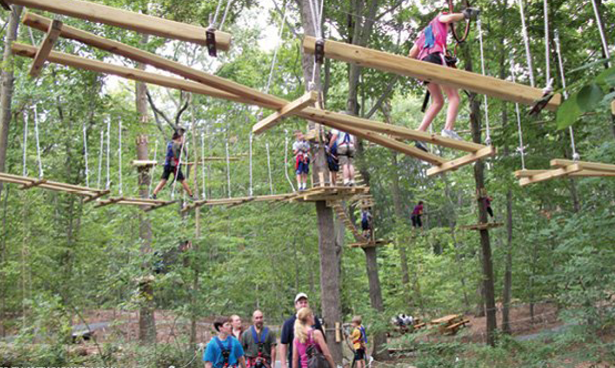 Treerunner Adventure Park Offers West Bloomfield Zip Line And Climbing Fun Detroit And Ann Arbor Metro Parent