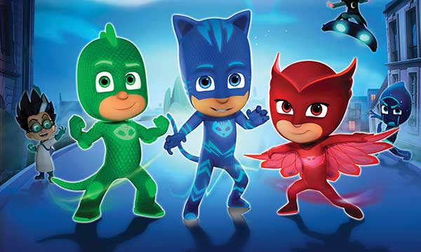 Win a Family Four-Pack of Tickets to PJ Masks Live!