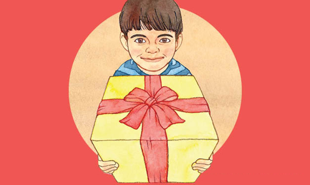 teaching kids the joy of giving presents