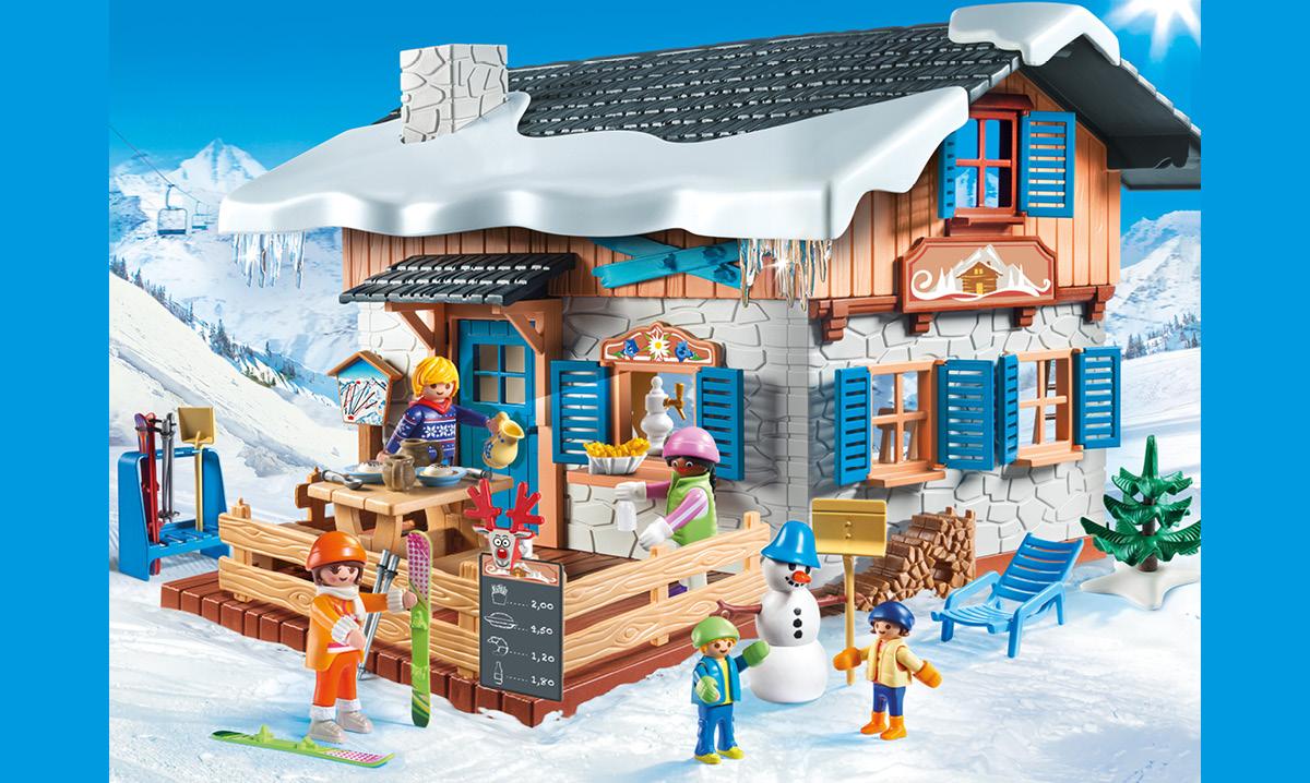 Win the Playmobil Winter Ski Lodge Play Set