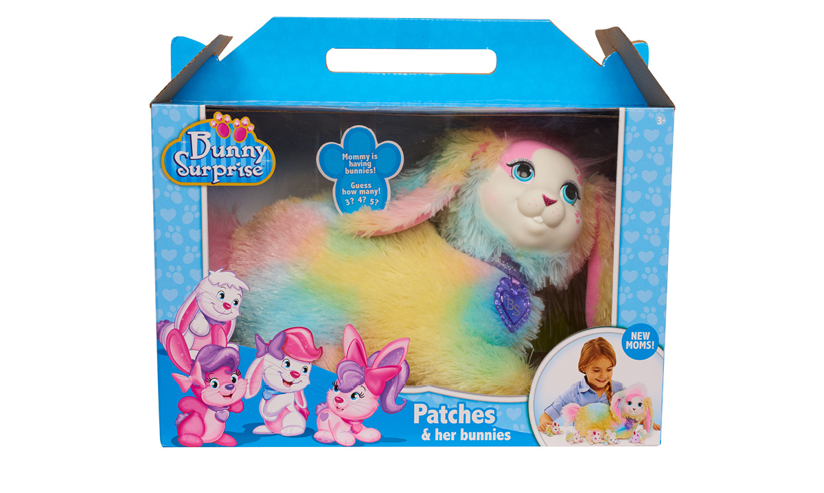 Win the 'Patches' Plush Toy Bunny Surprise by Just Play