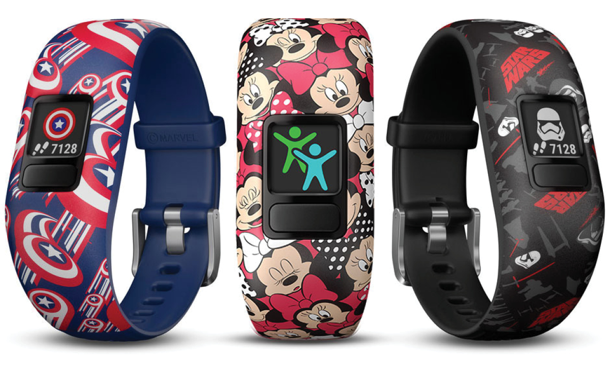 Three fitness watches for kids