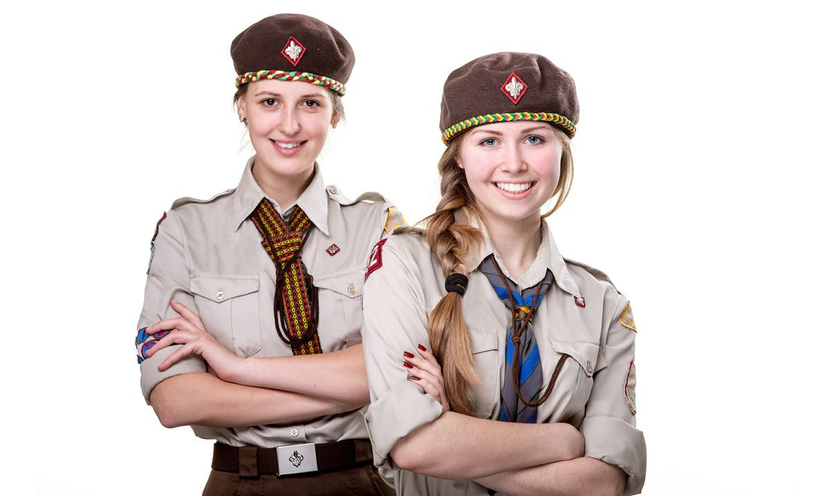 Girls in Boy Scouts