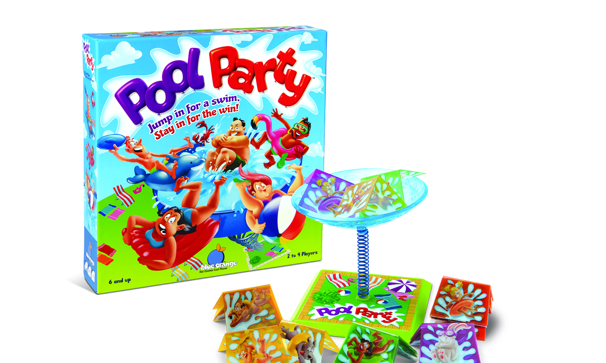 Win the Pool Party Game From Blue Orange Games