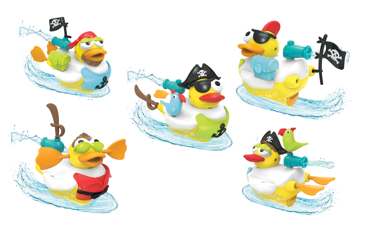 Win a Jet Duck Pirate Tub Toy by Yookidoo