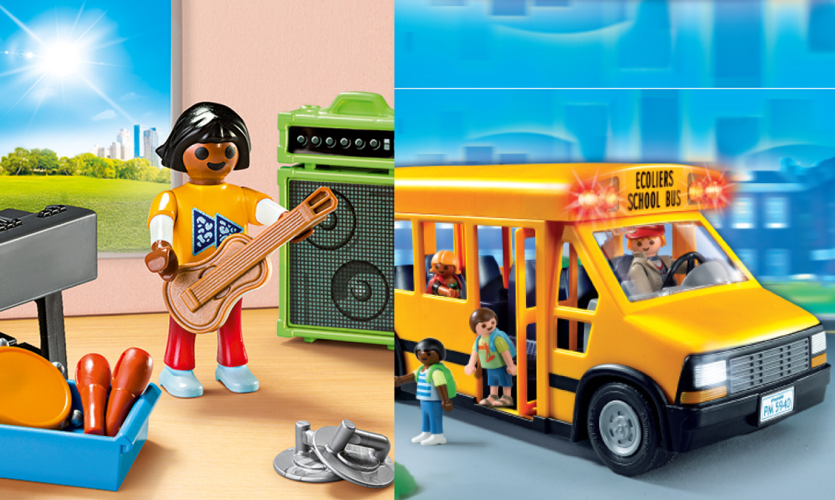 Win a School Bus and Music Class Set From Playmobil