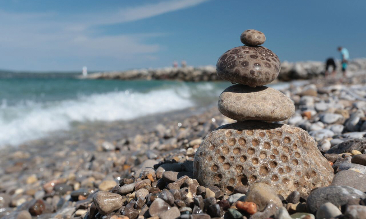Michigan Rock Collecting Fun in Petoskey State Park and More