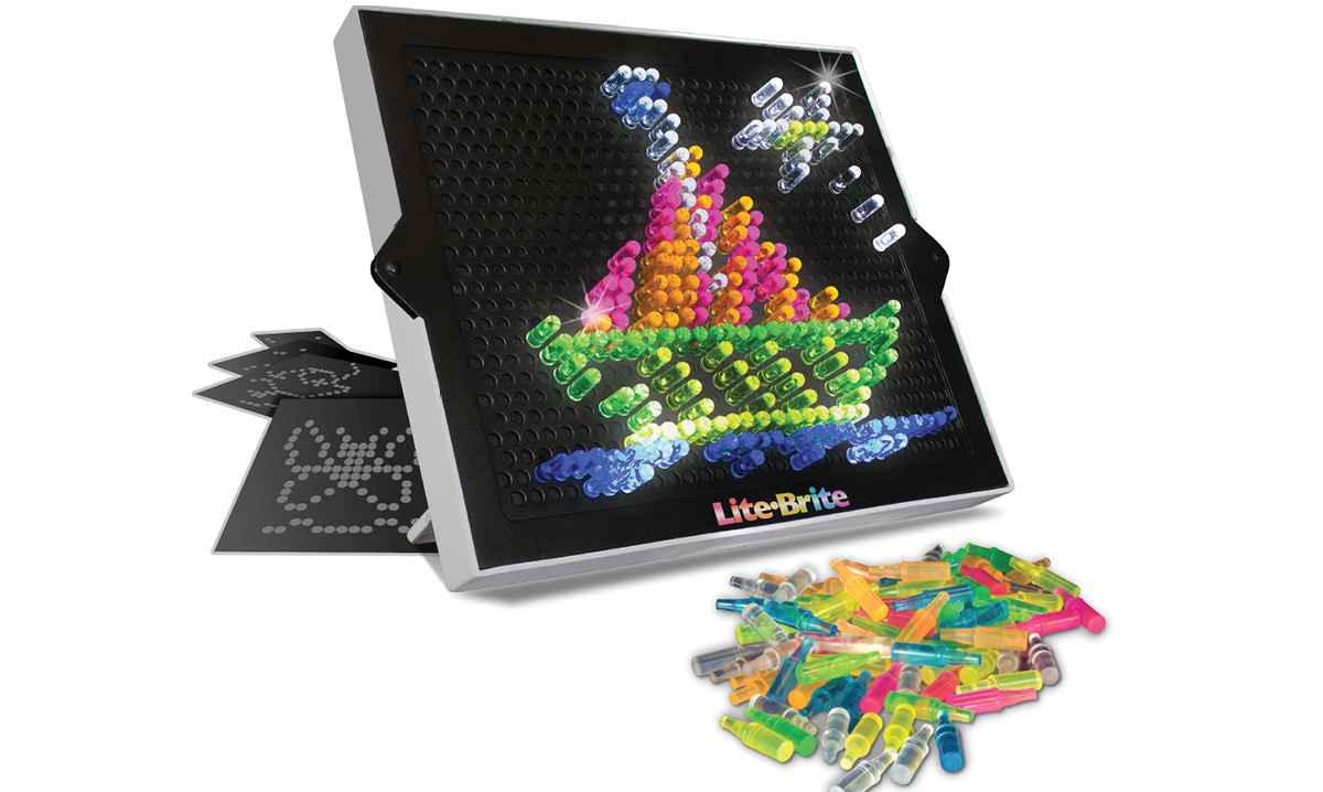 Win the Lite-Brite Ultimate Classic Toy Set by Basic Fun
