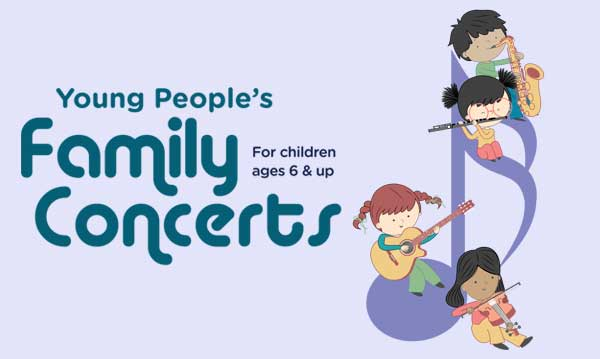 Win Tickets to the Young People's Family Concerts by the DSO