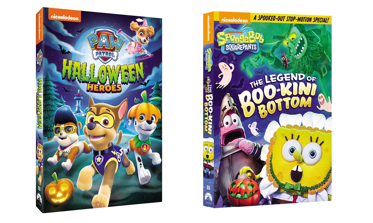 Win Halloween-Themed Nickelodeon Movie DVDs