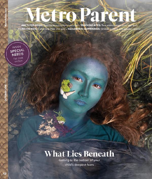 October 2018 issue of Metro Parent magazine