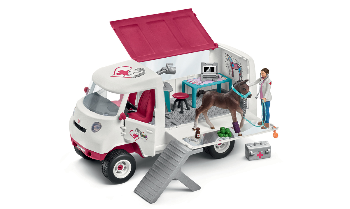 Win Schleich's Mobile Vet With Hanoverian Foal
