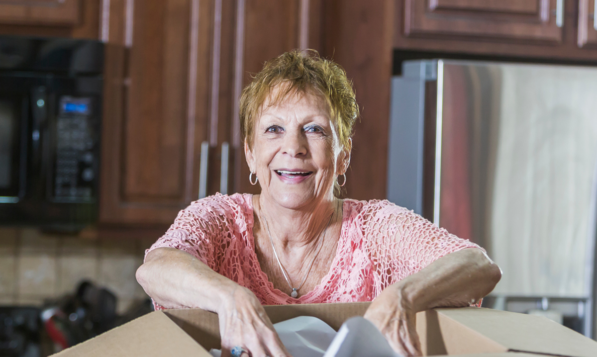 assessing a lifetime of treasures when an aging parent moves