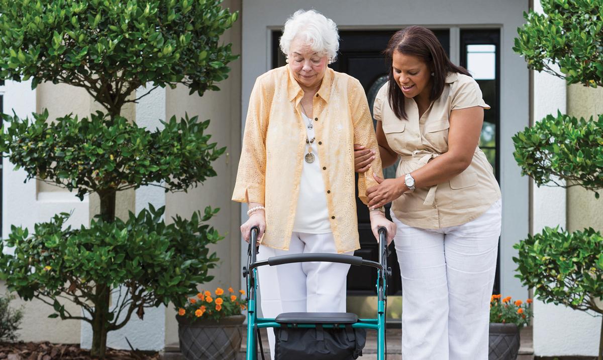 becoming a caregiver to an elderly parent