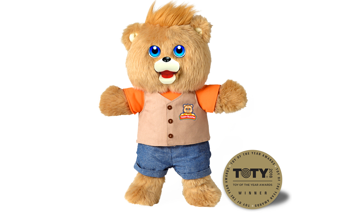 Win Teddy Ruxpin by Wicked Cool Toys