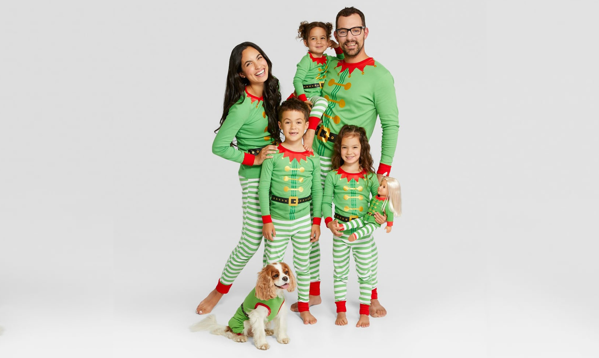 matching family holiday pajamas are back