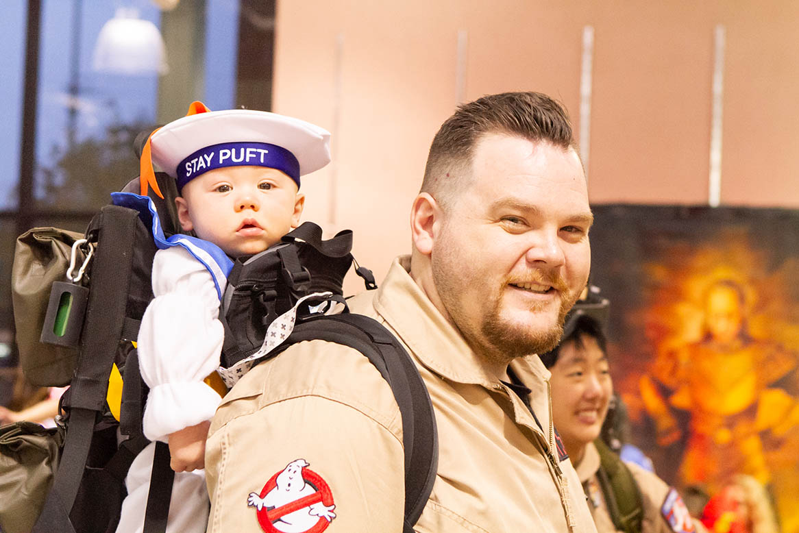 Monster Mash Ghostbuster at Orchard Mall on Oct. 26, 2018.