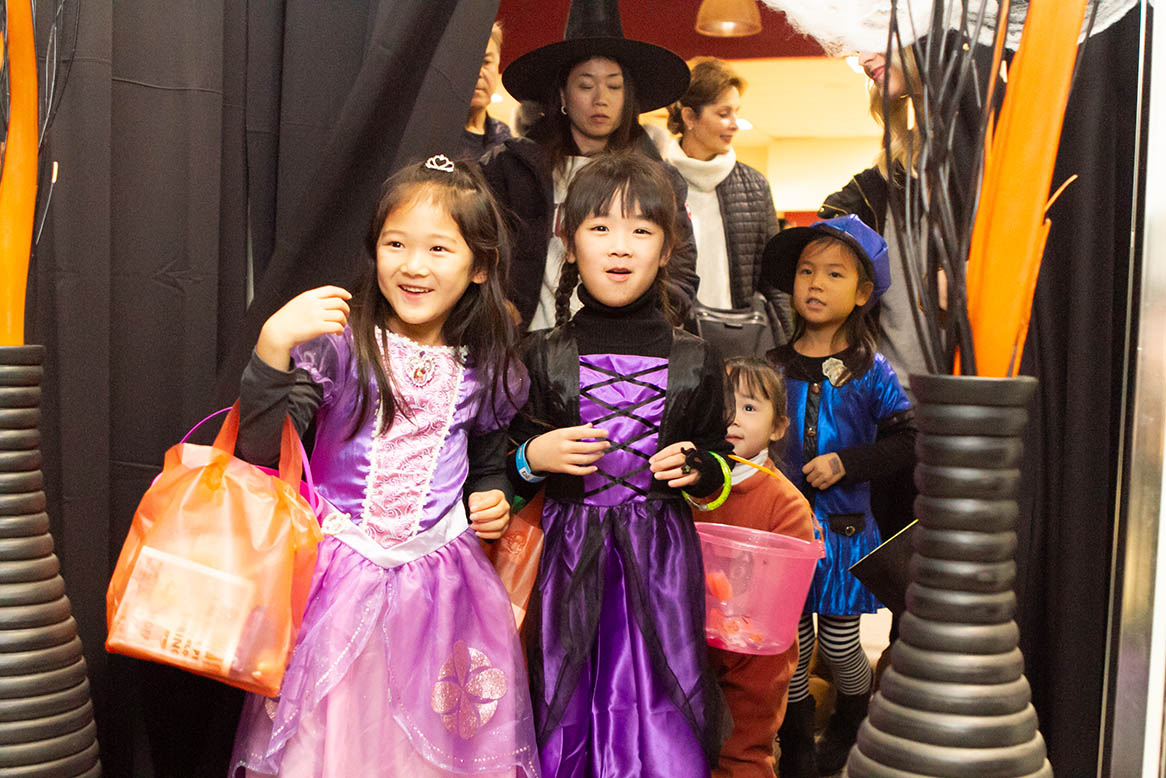 Monster Mash attendees at Orchard Mall on Oct. 26, 2018.