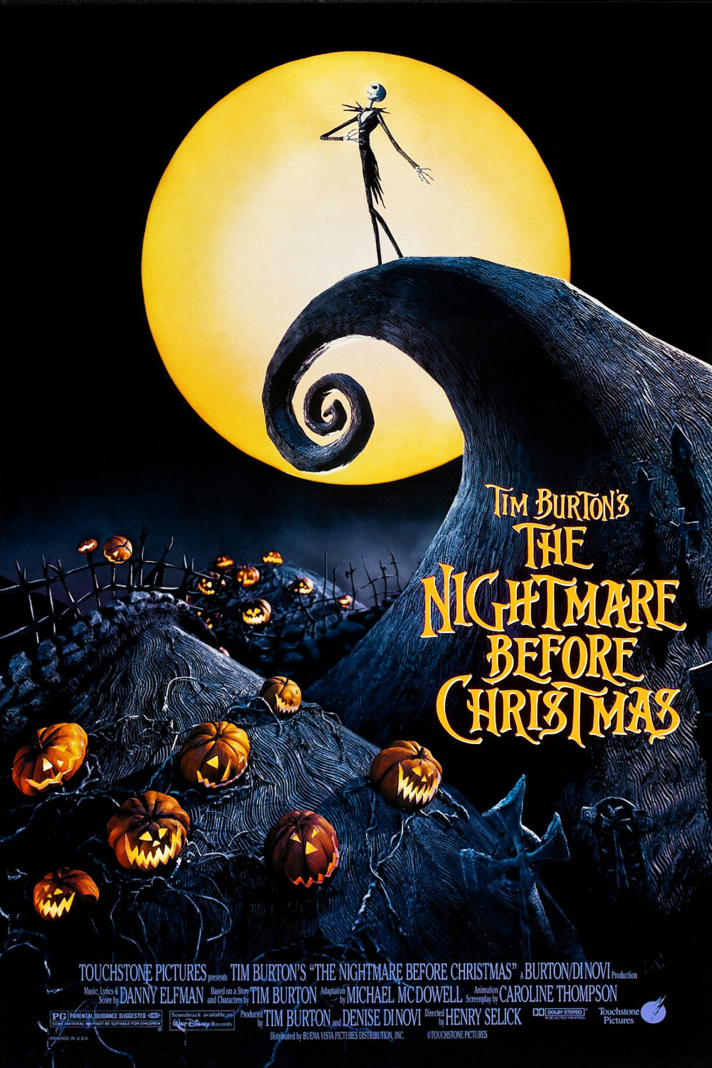 Cover of The Nightmare Before Christmas