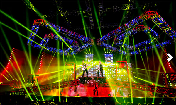 trans-siberian orchestra at little caesars arena in detroit