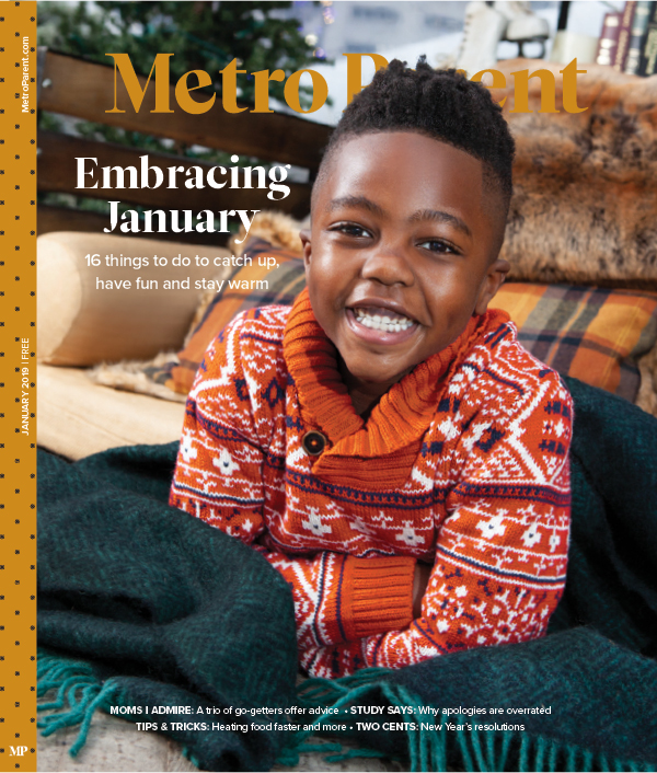 Metro Parent January 2019 cover