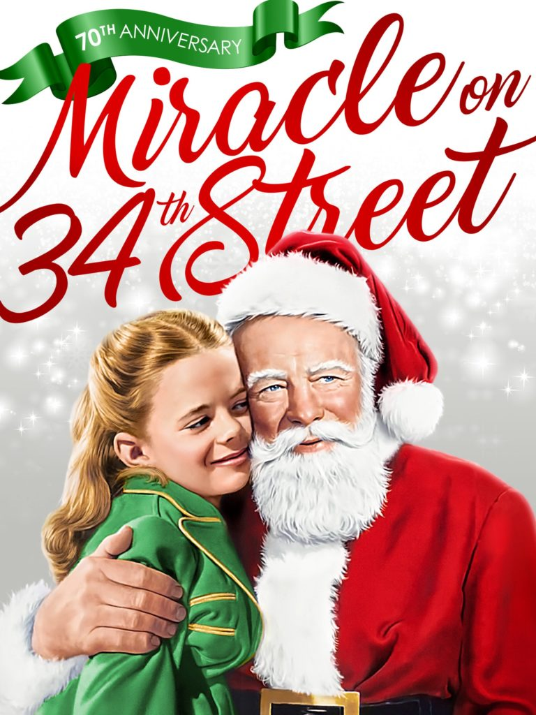 Cover of A miracle on 34th Street