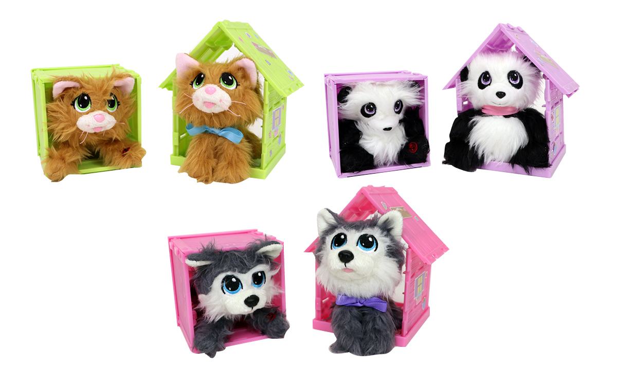 Win Rescue Runts Babies Tabby, Husky and Panda by KD Kids