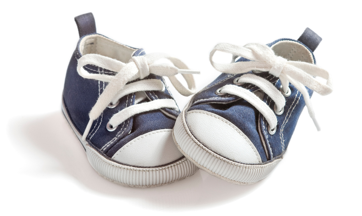 Pigeon-toed toddler