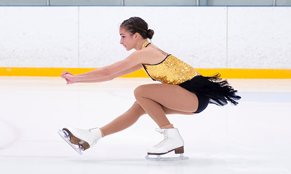 Figure skating winter sports for kids