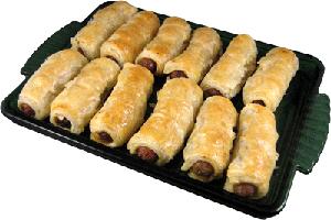 close-up or sausage kebabs
