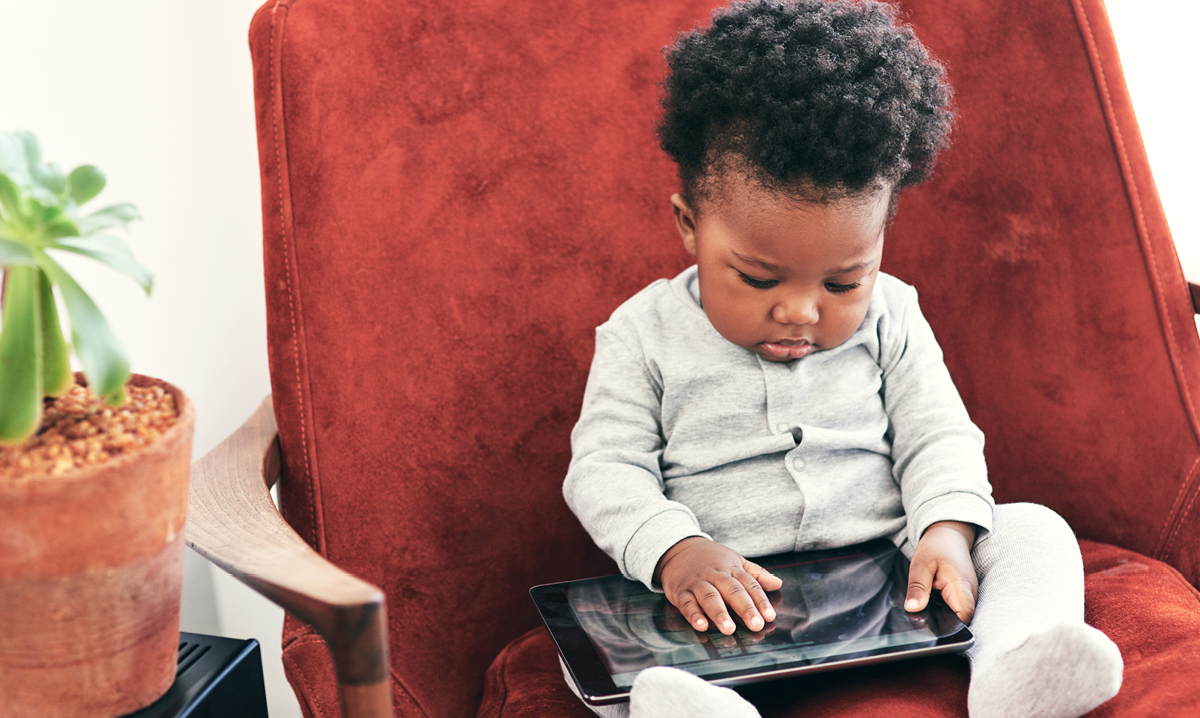 Toddlers' screen time has doubled