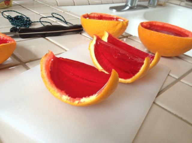 jell-o oranges