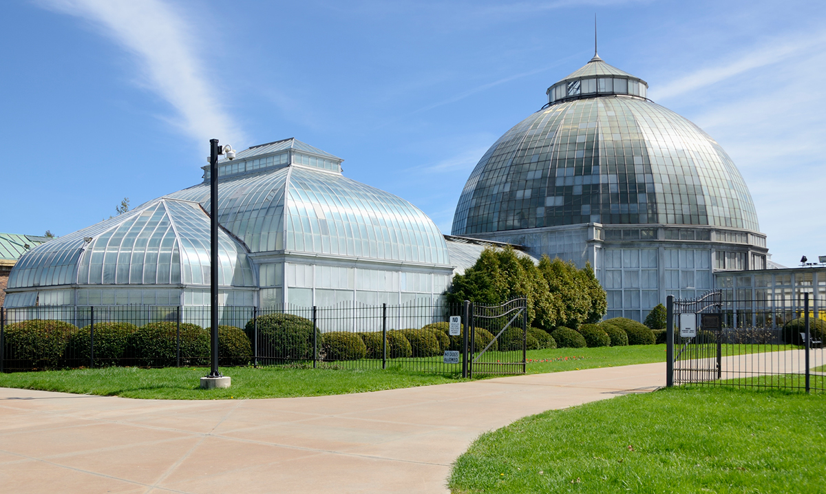 Anna Scripps Whitcomb Conservatory on Belle Isle