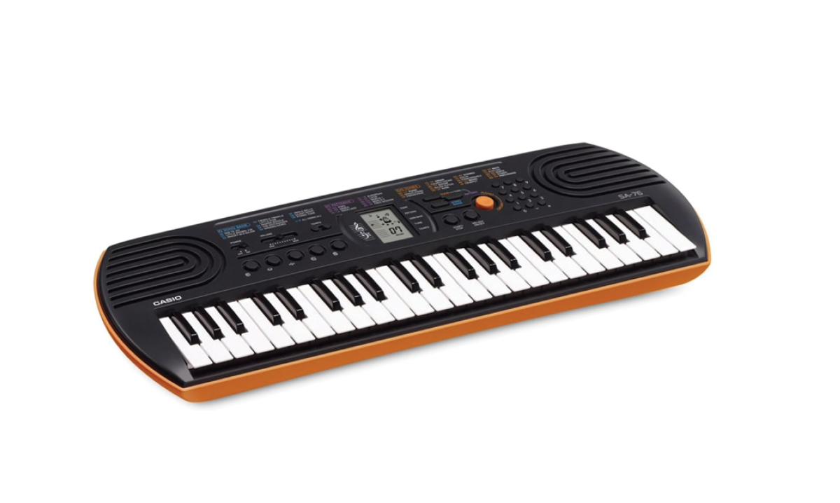 Win a Casio SA-76 Keyboard