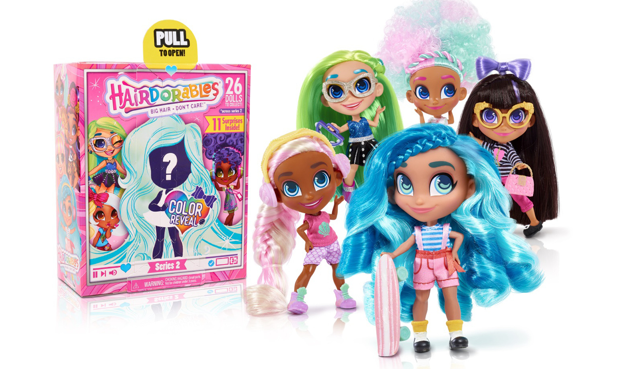 Win Three Sets From the Hairdorables Collectibles Series 2