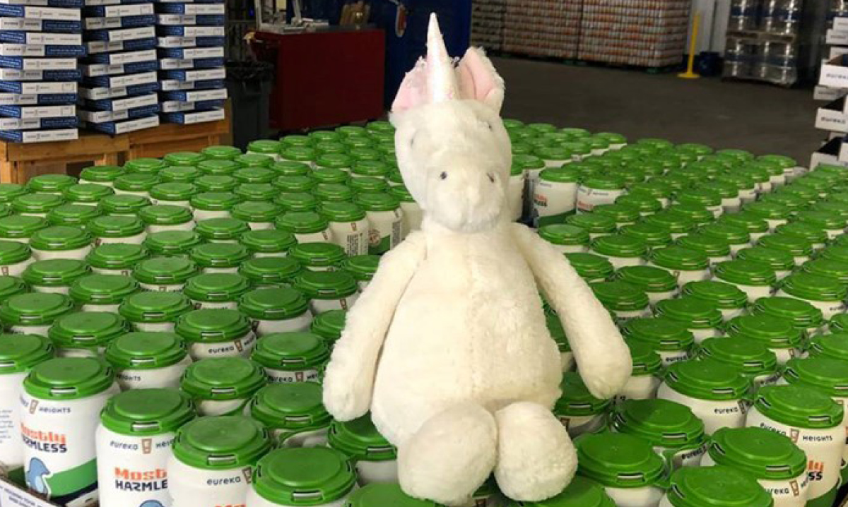 Houston Brewery has fun with lost unicorn toy