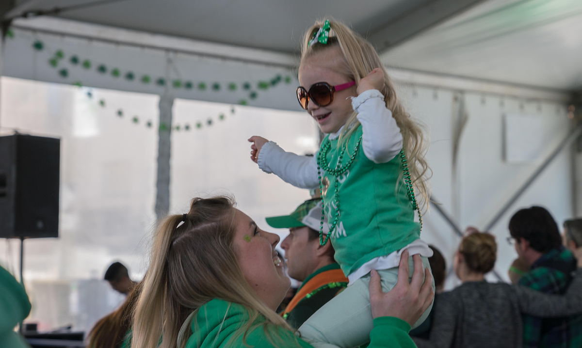 St. Patrick's Day family fun day and party in Detroit