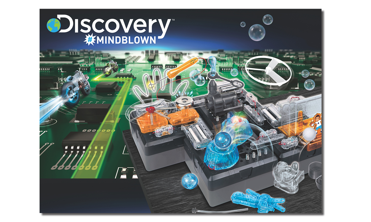 Win a Discovery Education Mindblown Electronic Circuitry Kit
