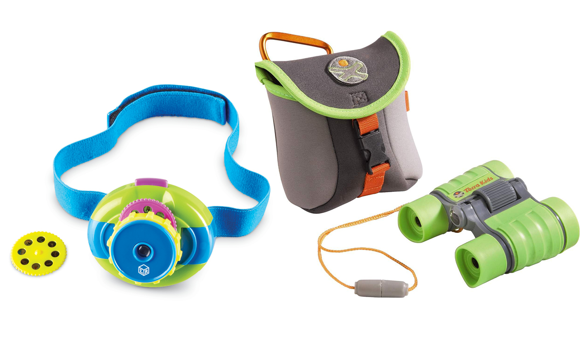 Win a Primary Science Headlamp Projector and HABA Terra Kids Binoculars