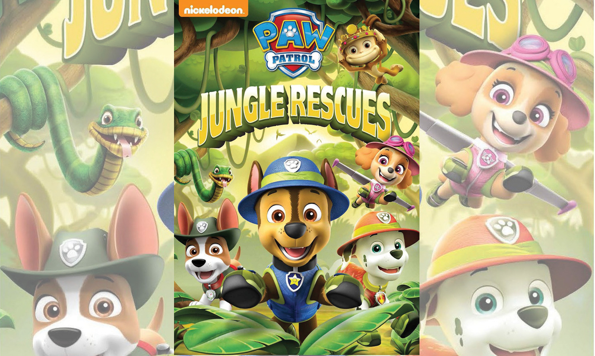 Win the Paw Patrol: Jungle Rescues DVD
