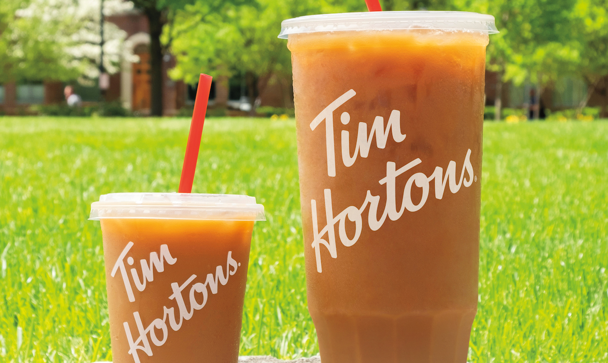 Tim Hortons mom-sized coffee for Mother's Day