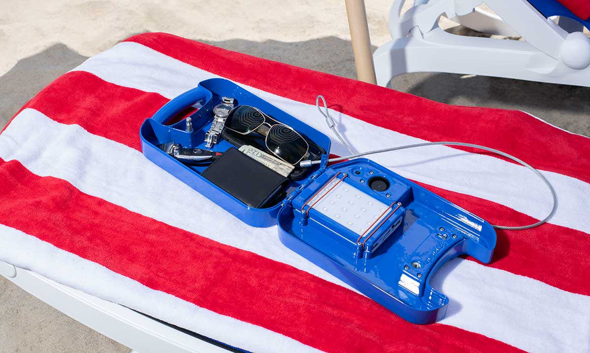 Win a beachsafe Portable Personal Safe