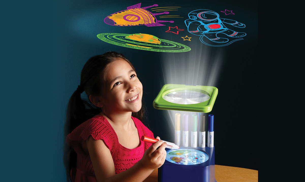 Win a Discovery Kids Sketch Projector