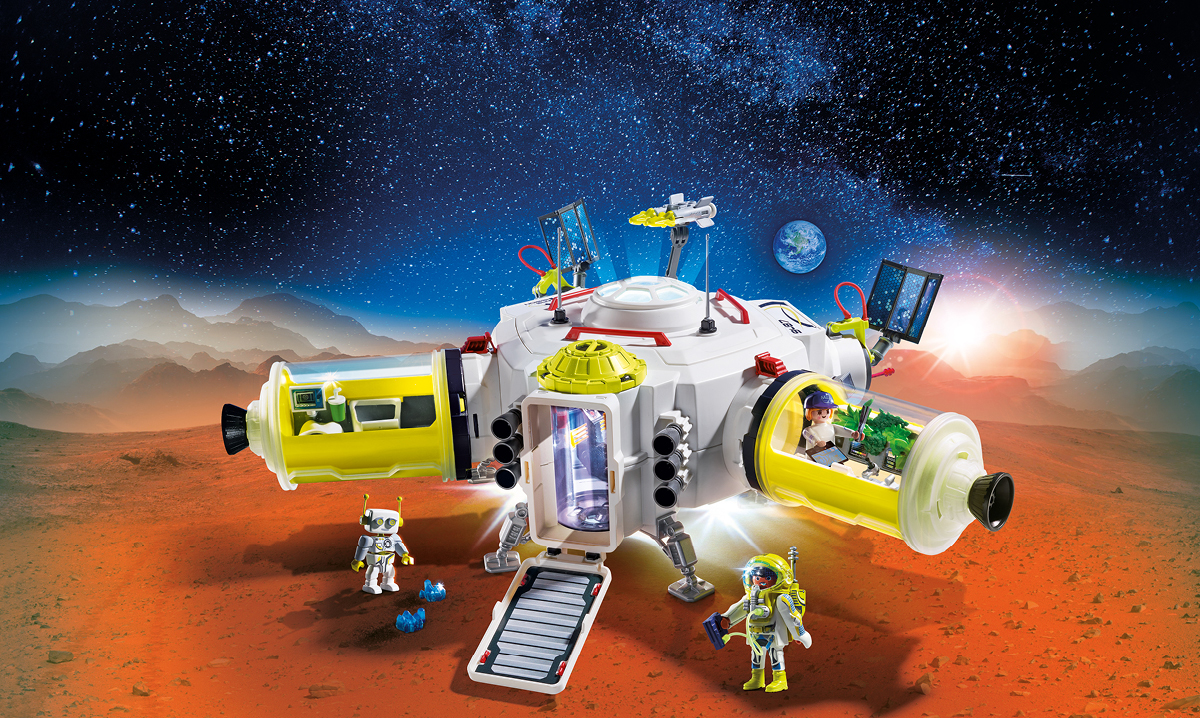 Win a Playmobil Mars Space Station Play Set