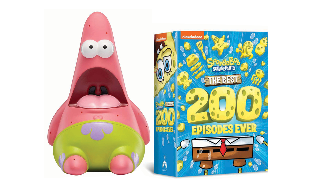 Win a Bundle of SpongeBob SquarePants Swag