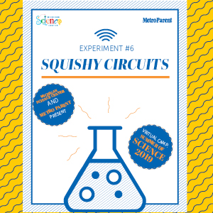 Squishy circuits guide cover