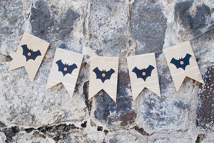 bat banner craft