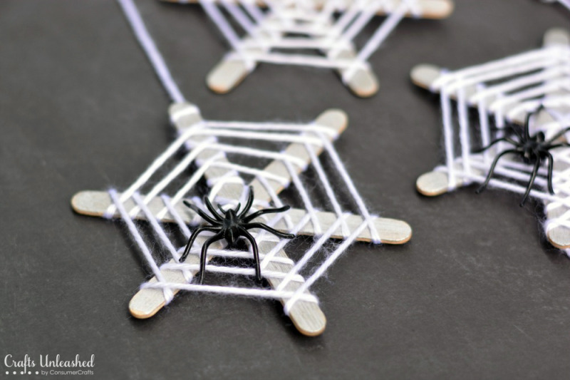 Spiderwebs craft